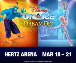Disney on Ice Dream Big @ Hertz Arena